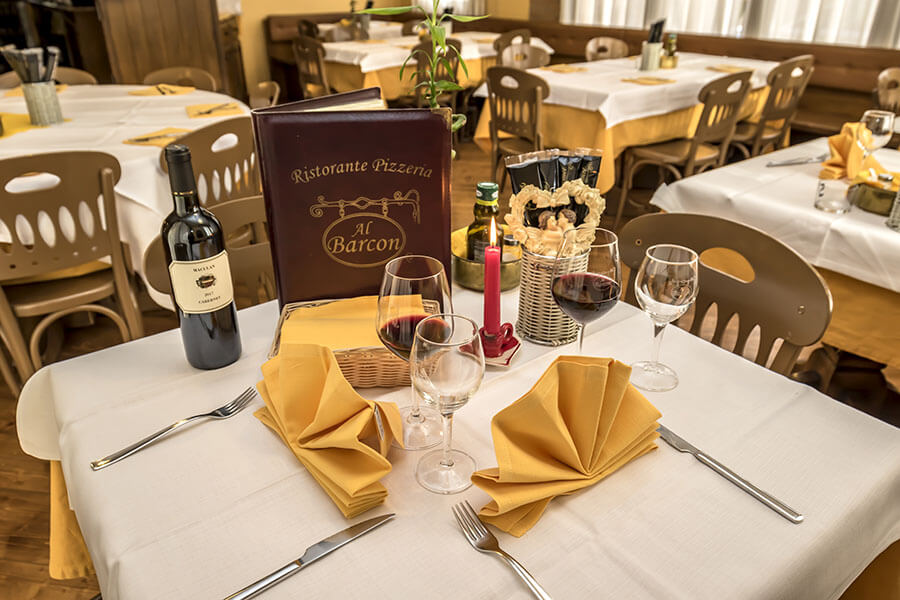 Tavolo al Barcon Sarcedo Vicenza